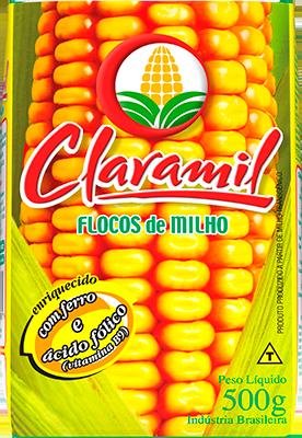 Flocos de milho Claramil